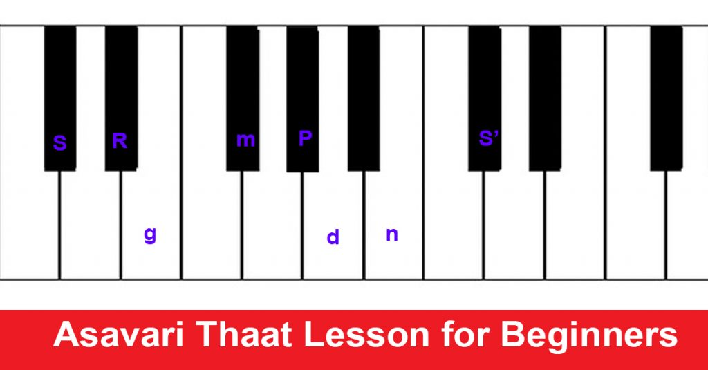 Asavari Thaat Lesson for Beginners