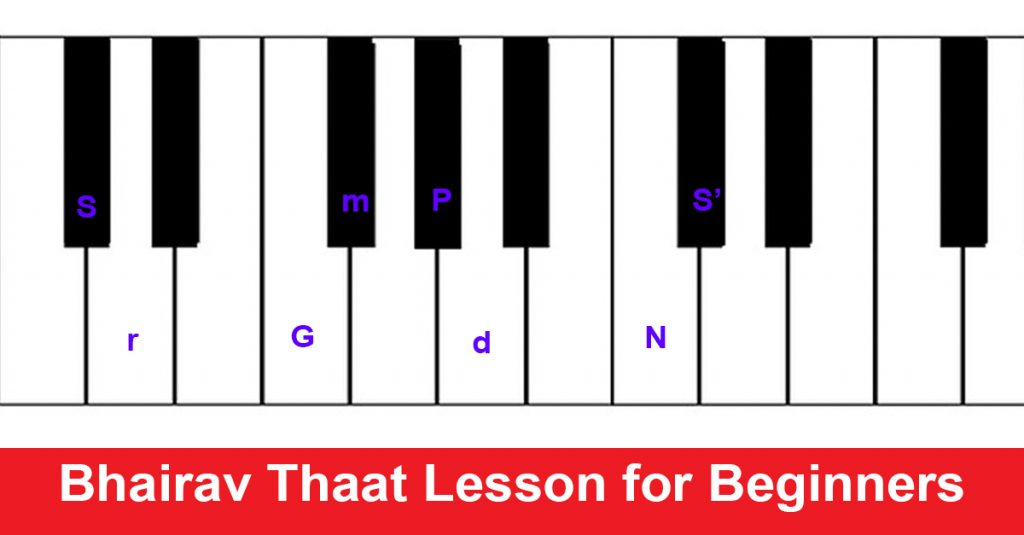 Bhairav Thaat Lesson for Beginners