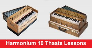 Harmonium 10 Thaats Lessons for Beginners