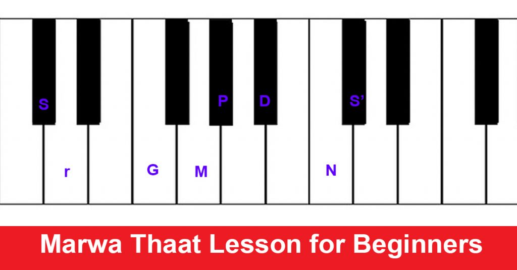 Marwa Thaat Lesson for Beginners