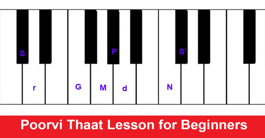 Poorvi Thaat Lesson for Beginners