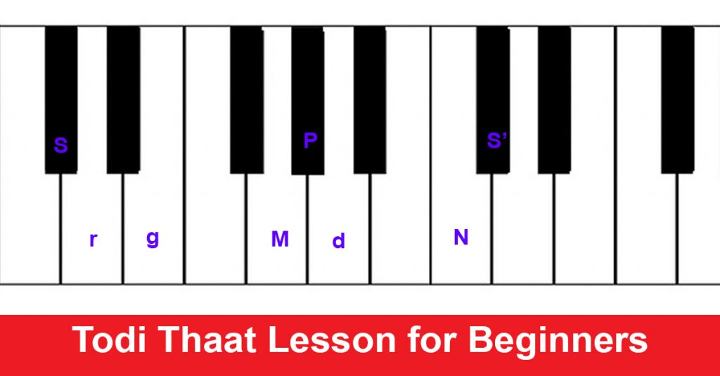 Todi Thaat Lesson for Beginners