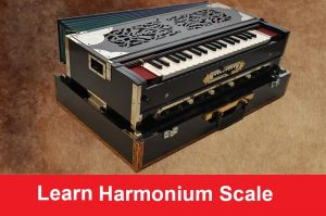 Harmonium Major and Minor Scale for Beginners with Images